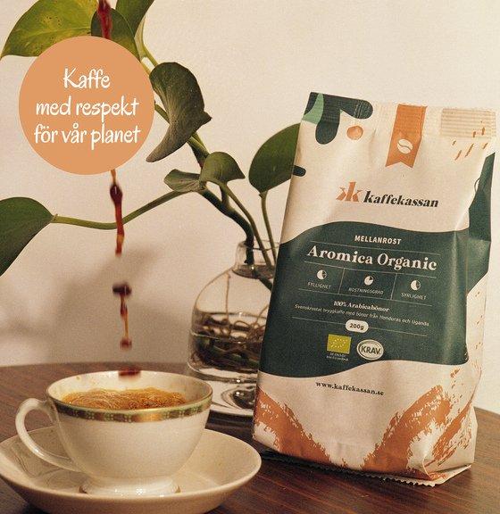 teamet bakom kaffeproduktionen